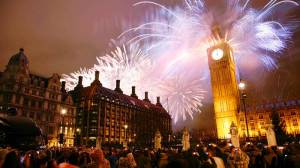 New Year's Eve 2015, London